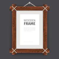 Creative wooden photo frames vector set 02 - Vector Frames ...