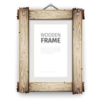 Creative wooden photo frames vector set 04 - Vector Frames ...