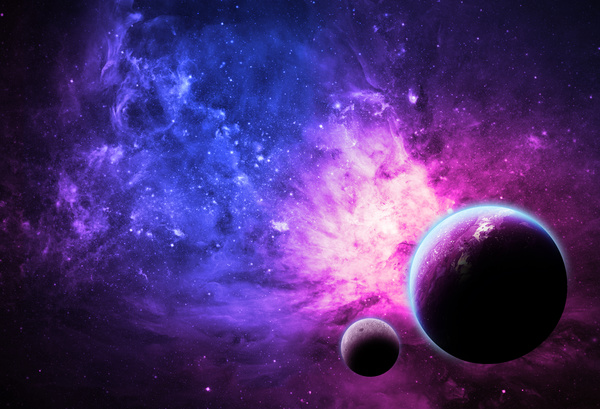 Happy New Year 2016 3d Wallpaper For Pc Deep Space And Planets Hd Picture Space Stock Photo Free