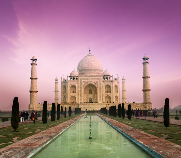 Cute Graffiti Wallpaper Famous Buildings And Tourist Attractions In India Stock