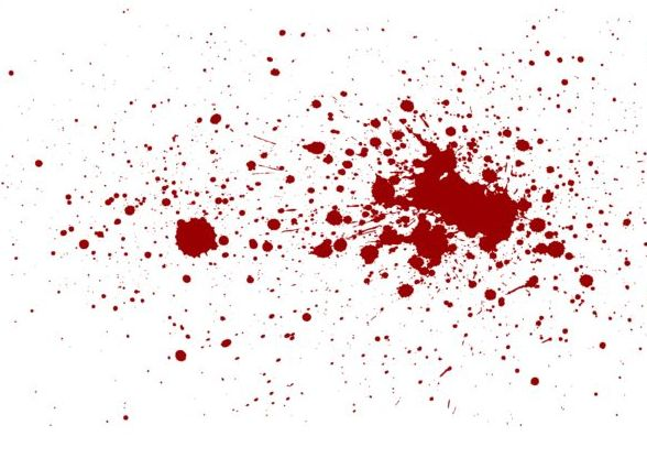 3d Emoticons Wallpapers Splashing Blood Effect Vector Background 02 Vector
