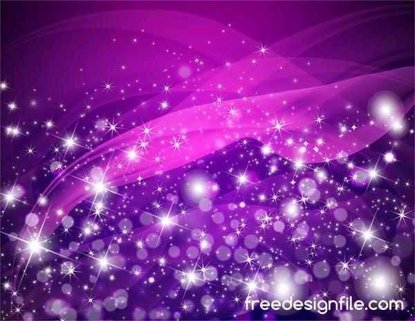 Violet Flower Hd Wallpaper 紫輝き27 Free Download