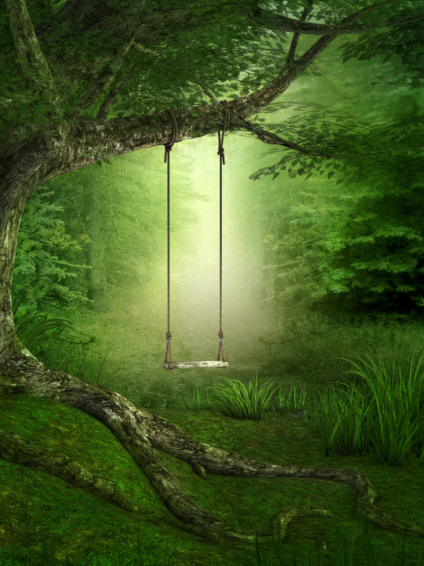 3d Emoticons Wallpapers Forest Swing Stock Photo Other Photo Stock Photo Free