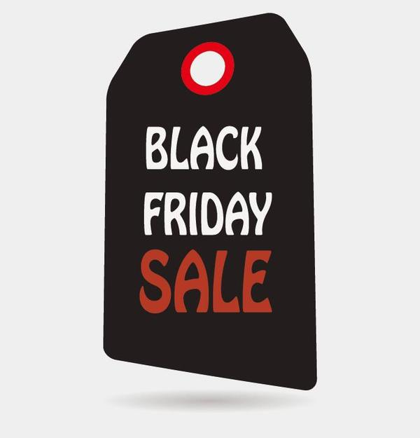 Black friday sale tags template vectors 02 - Vector Label free - sale tag template