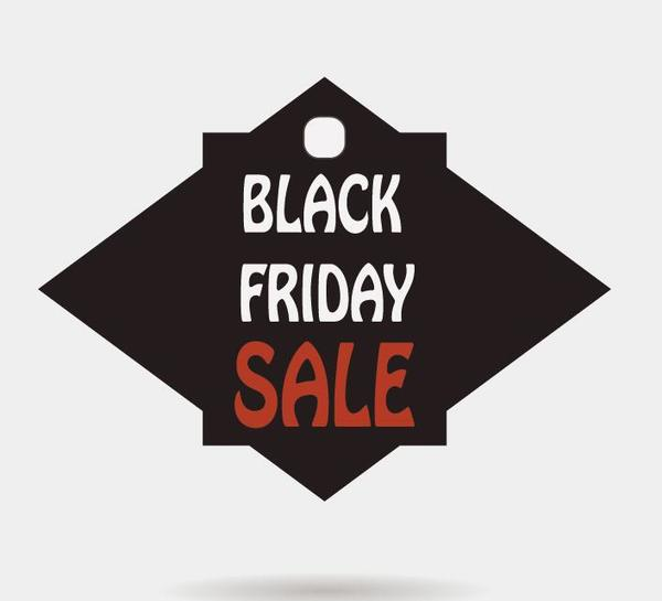 Black friday sale tags template vectors 03 - Vector Label free - sale tag template