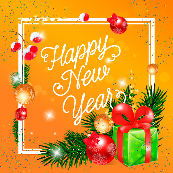 happy new year greeting card - Goalgoodwinmetals