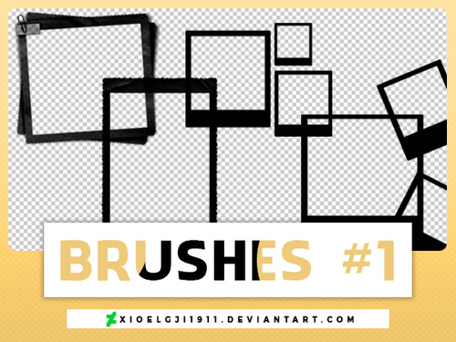 Photo Frame Photoshop Brushes free download