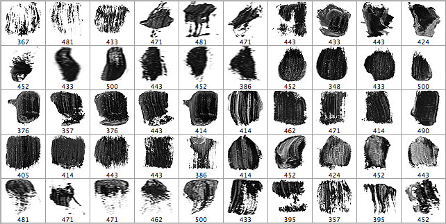 Oil Brush Pack 10 Photoshop Brushes free download