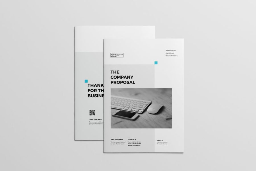 Free Professional Proposal Template \u2014 Free Design Resources - graphic design proposal template