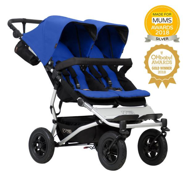 Double Buggy Disabled Child Mountain Buggy Duet Double Buggy – Freedom For Kids