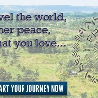 How to travel the world, find inner peace, and do what you love...