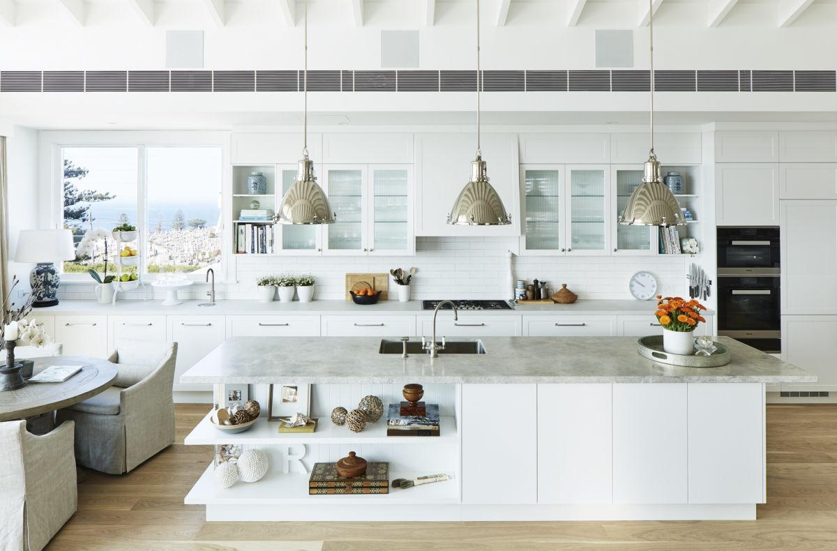 Hamptons Kitchens Deb Hutton Brings The Hamptons To Bronte Freedom Kitchens