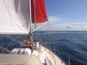 freedom sailing yacht Saorsa