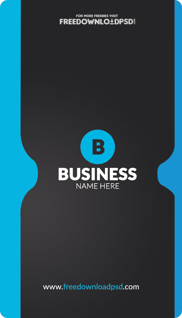 Free Corporate Business Card Template FreedownloadPSD