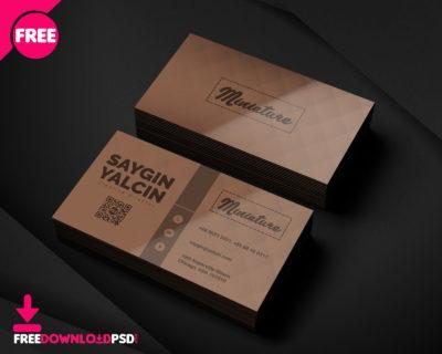 Web Designer Business Card FreedownloadPSD