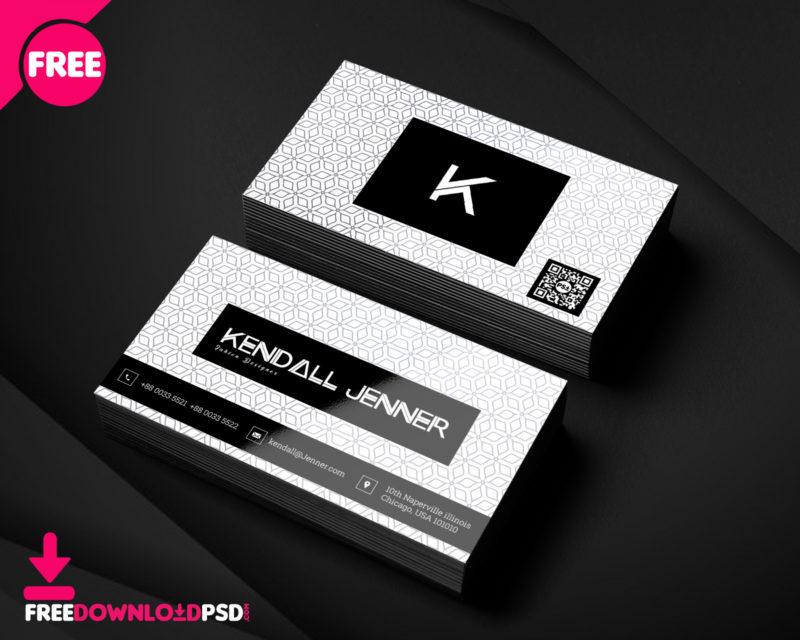 Personal Business Card PSD Template FreedownloadPSD