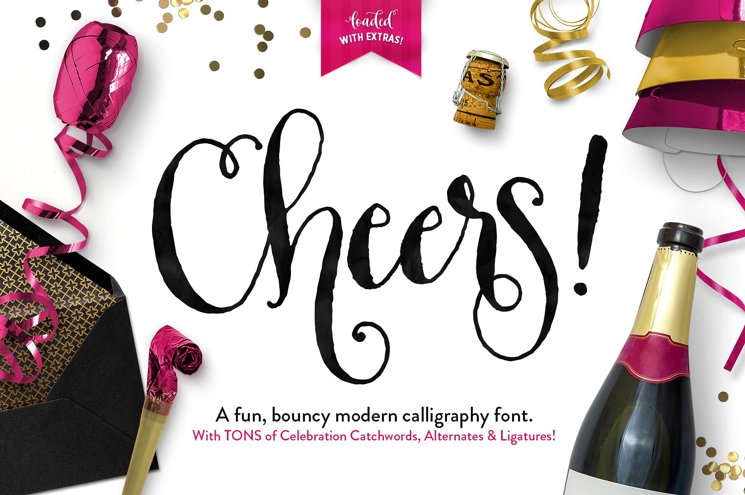 Cheers Font Graphics Pack Free Fonts