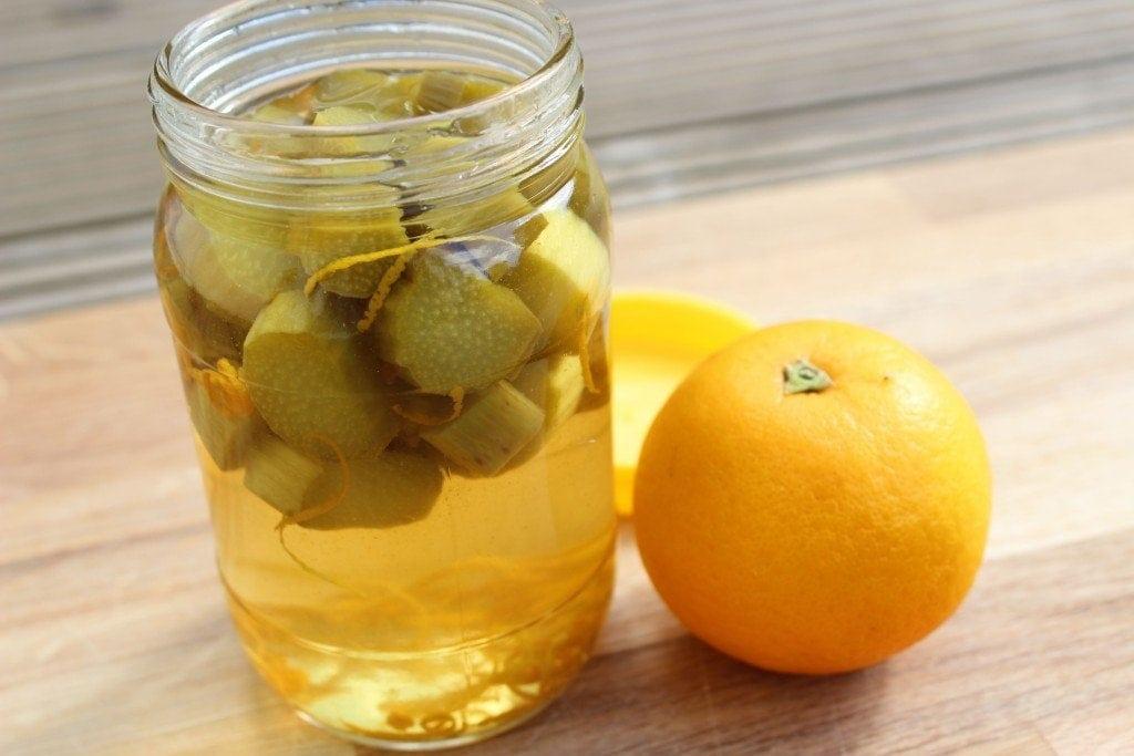 Rhubarb and Orange Gin - Another Jar Recipe!