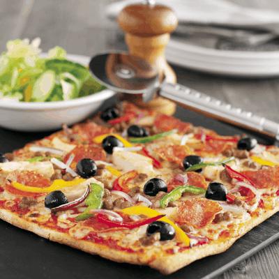 UK Pizza Hut Restaurant Gluten-free Pizza Review