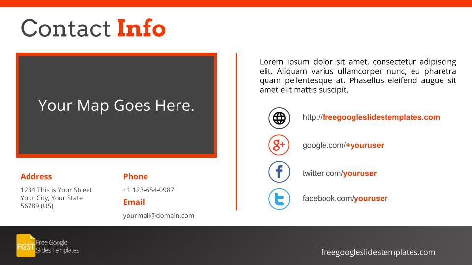 contact info template - Romeolandinez