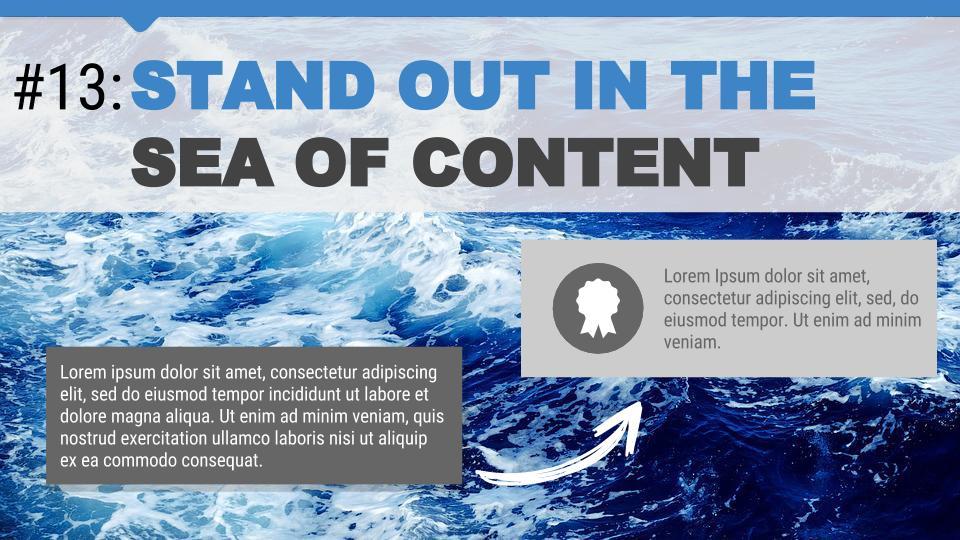 Blue Ocean Google Slides Templates - Free Google Slides Templates