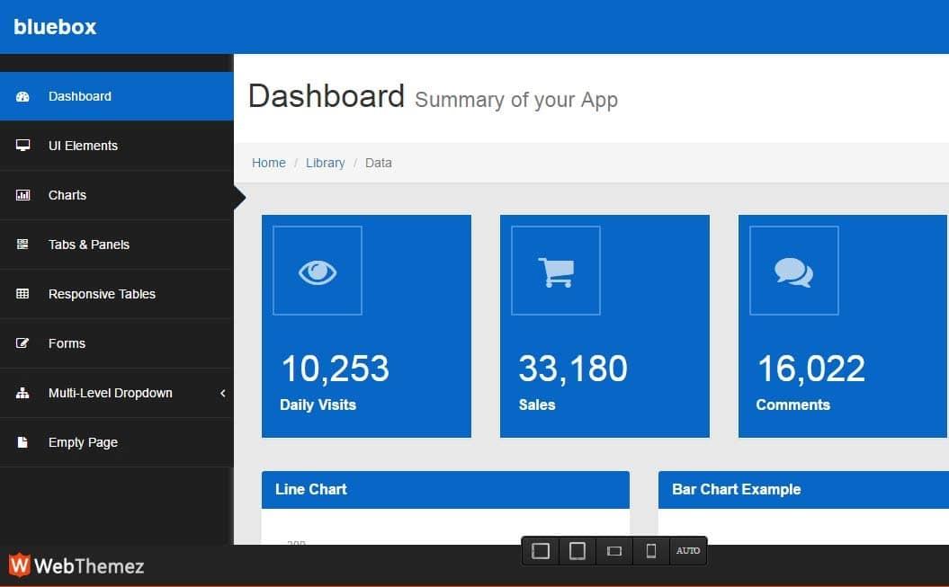 48 Free HTML5 Responsive Admin Dashboard Templates 2017