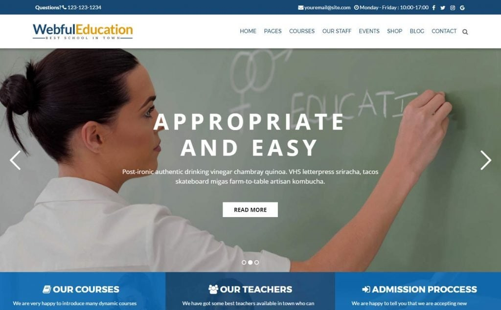 26 Best Education Wordpress Themes 2017 You Need To See
