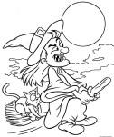 Halloween printable coloring page