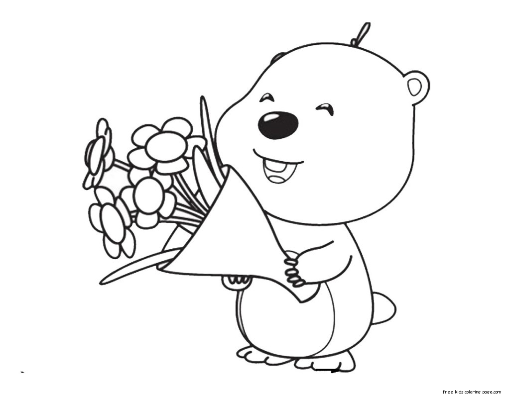 Pororo Cute Wallpaper Printable Pororo The Little Penguin Loopy Coloring Pages