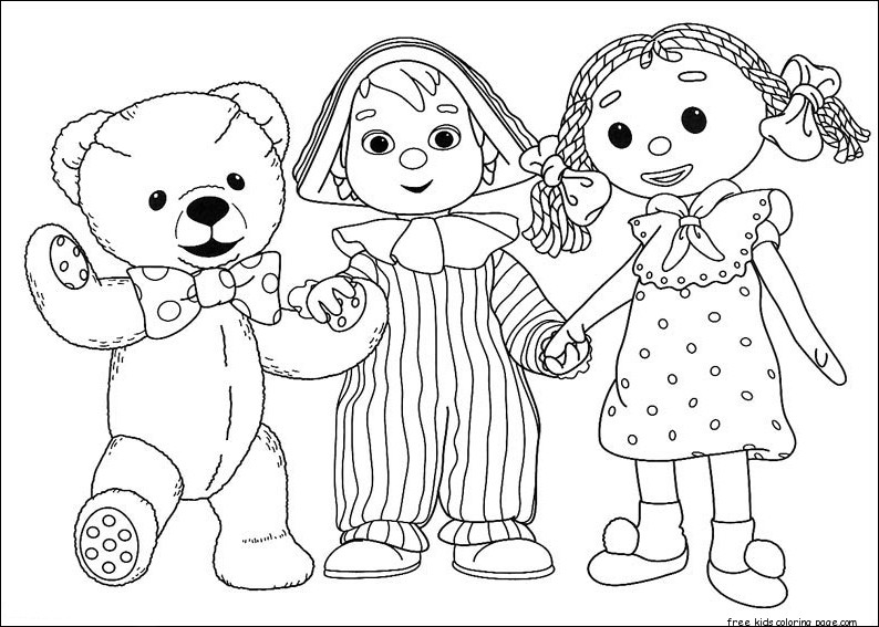 Girl Minion Wallpaper Printable Andy Pandy Cartoon Coloring Pages For Kidsfree
