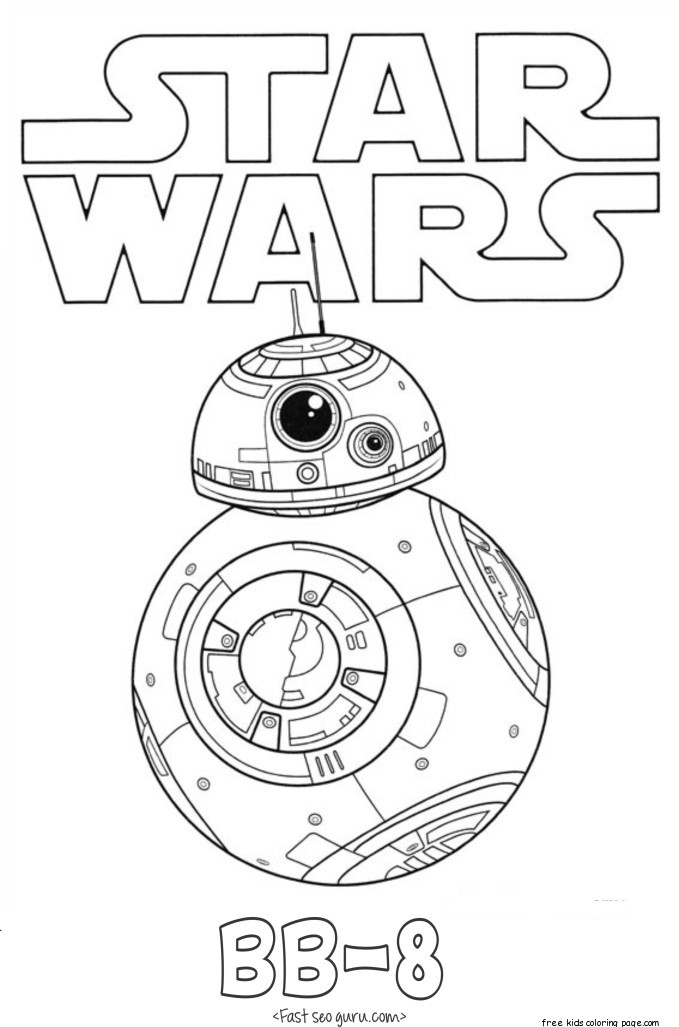 Cute Thanksgiving Wallpaper Cat Star Wars The Force Awakens Bb 8 Coloring Pages Free