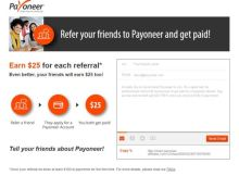 Earn Money with Payoneer Referrals