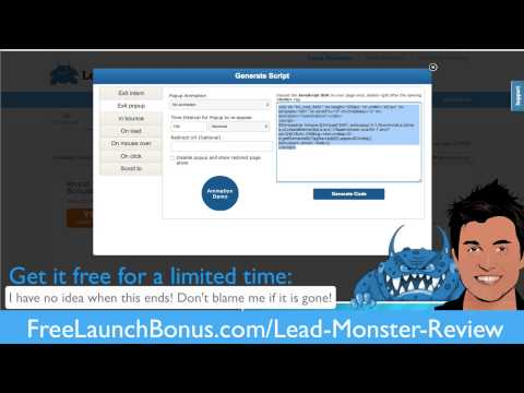 lead monster bonus