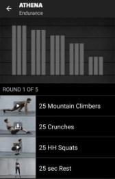 Athena Freeletics Workout - Endurance