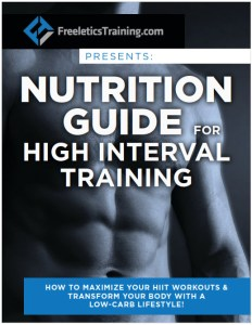 HIT training nutrition guide