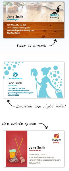 Cleaning Business Cards Design Custom Business Cards for Free