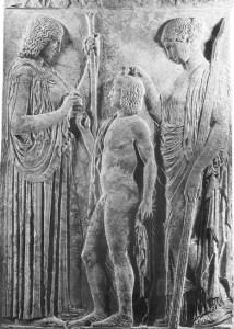initiation, ancient mystery school, Demeter, Triptolemos, Persephone