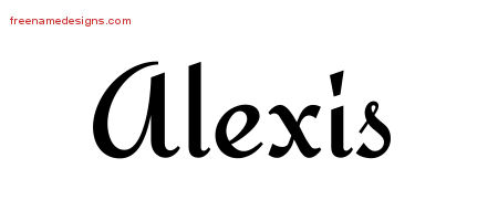 Alexis archives page 3 of 4 free name designs