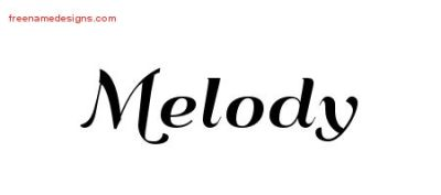 melody Archives - Page 2 of 2 - Free Name Designs