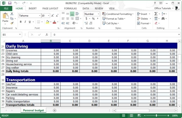 monthly budgeting plan - Apmayssconstruction