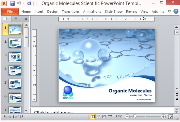 powerpoint templates for scientific presentations 3slu