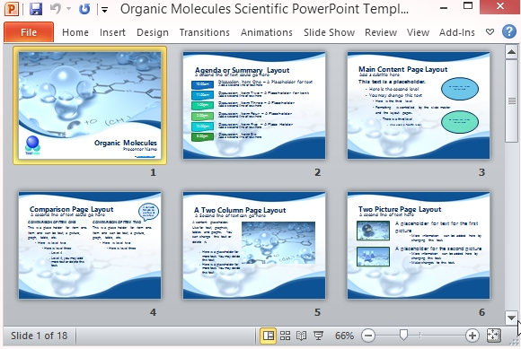 scientific ppt presentation - Kenicandlecomfortzone - science presentation template