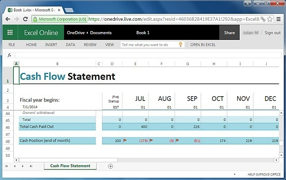 Free Financial Report Templates for Excel - financial report excel