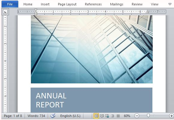 free word templates for reports - Josemulinohouse - free annual report templates
