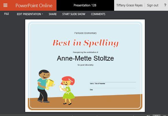 make an award online - Josemulinohouse - free online printable certificates