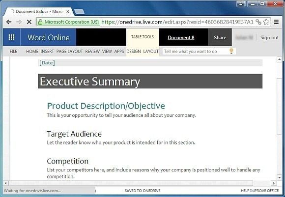Free Executive Summary Template for Word - microsoft word executive summary template