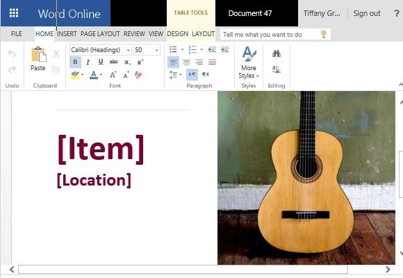 Reward Flyer Template for Microsoft Word