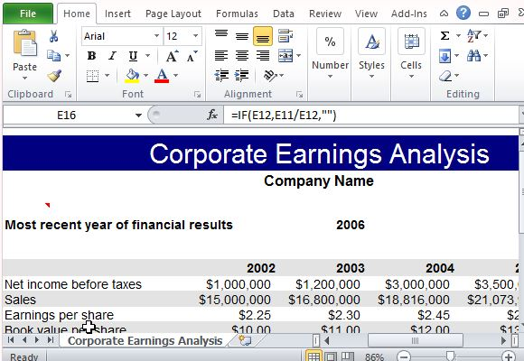 spend analysis template excel