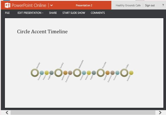 Event Timeline Template for PowerPoint - timeline template
