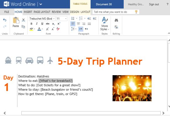 how to make a planner on microsoft word - Josemulinohouse - how to make tickets on word
